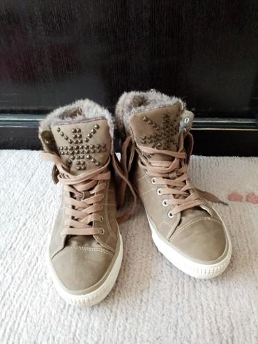 Ženska patike i atletske cipele   Backa Palanka: Venice patike sa krznom br. 40,dva puta obuvene,prelepe i