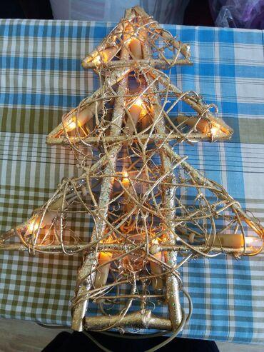Другие предметы коллекционирования в Кыргызстан: Светильник Ёлочка из Германии