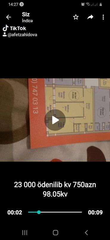 Недвижимость - Ашагы-Гюздек: Продается квартира: 2 комнаты, 98 кв. м