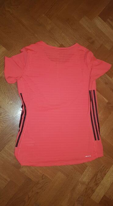 Original adidas florescentno roza majica