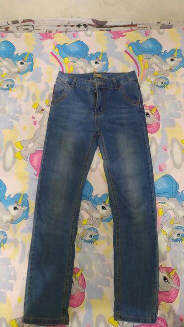 Мужские джинсы на рост 146 см .почти новые одевал 2 раза продаю за 250