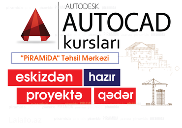 Компьютерные курсы autocad в Bakı