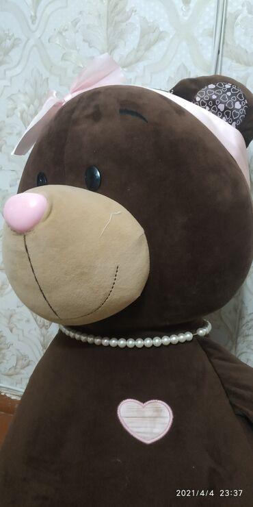 Продаю большую мягкую Медведицу за 1000с очень прочно сшито покупали в