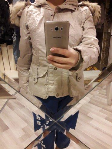 Bakı şəhərində Куртка с натуральным мехом лисицы,в отличном состоянии,размер  s-m