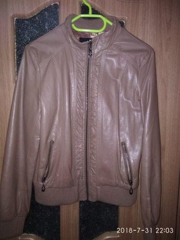 Кожаная куртка в отличном состоянии в Бишкек