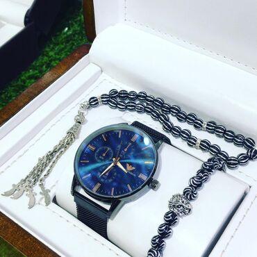 Gümüşü Kişi Qol saatları Armani