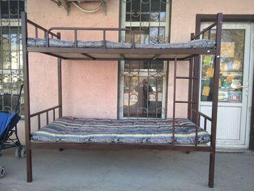 Другие кровати - Кыргызстан: Продаю 2 яростную кровать  Размер 177,5/1   Адрес :город Кант