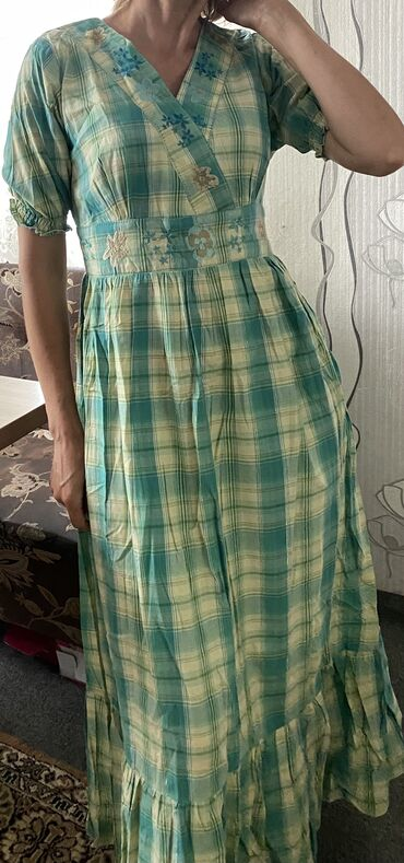 Продам оптом индийские фабричные платья на подкладке из марлёвки .Деш