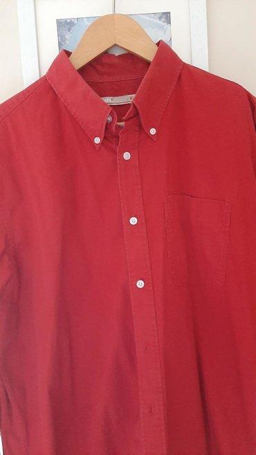 Muška odeća | Crvenka: Celio košulja muška tamno crveno xl vel. Ima još nekoliko košulja više