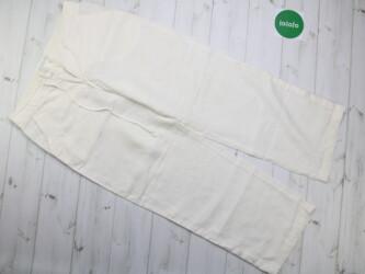Женские льняные брюки Linea Emme, р. S   Длина штанины: 101 см Шаг: 76