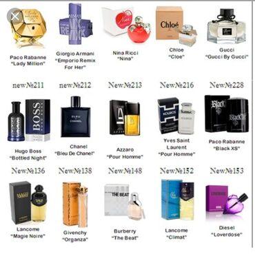 Принимаю на заказ женский мужской парфюм мирогого бренда в