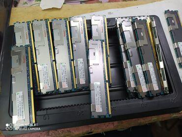 Оперативная память - Кыргызстан: Регистровая память(reg ecc) ddr3 4 gb pc10600,для серверов или