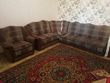 Диван, мягкий уголок и кресло б/у. в Бишкек
