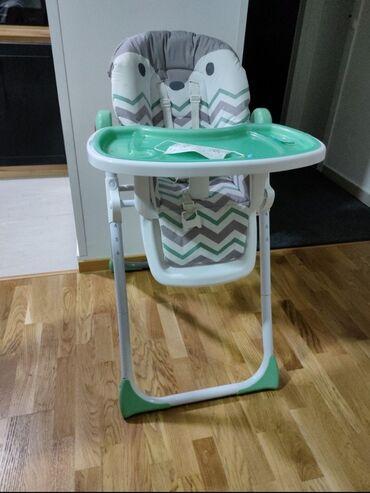 Sada din - Srbija: Stolica za hranjenje beba,u perfektnom stanjuVise polozaja visine i