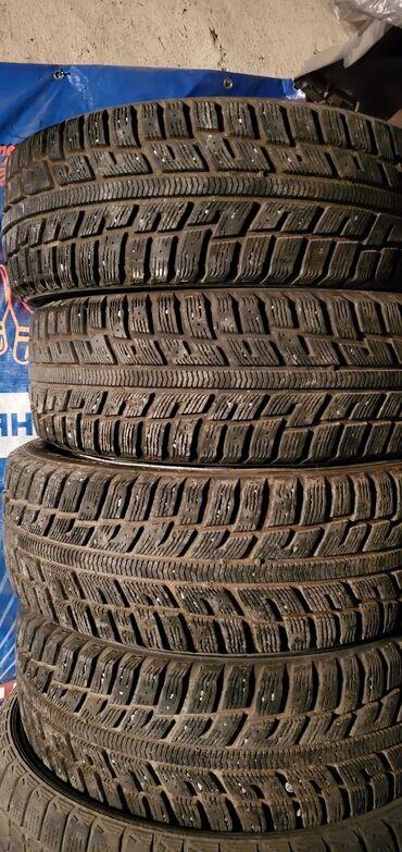 размер шин 18565 r15 в Кыргызстан: Продаю комплект зимние шины с дисками и колпаками185.55 r15
