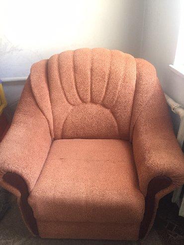стулья кресла дерева в Кыргызстан: Диван с креслом