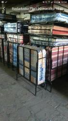 шикарная кровать в Азербайджан: Rasladuska maçalkası hər qalınlıqda var 75×1.90 10 st 78 azn Başqa