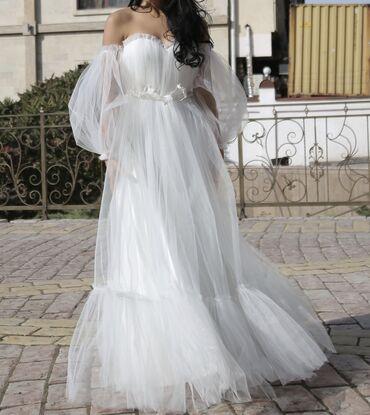 нарядные платья на свадьбу в Кыргызстан: Нарядное платье, практически новое, 1 раз надевала