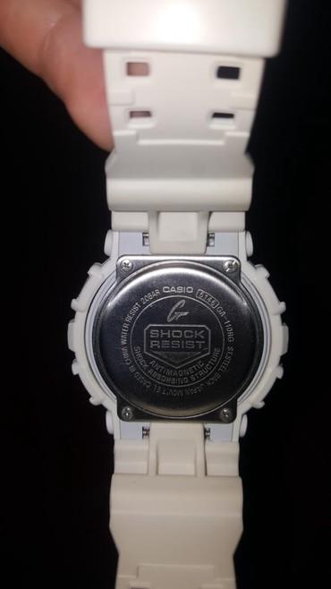 Ağ Kişi Qol saatları Casio