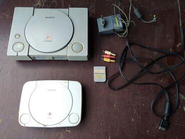 Sony 2 - Srbija: PlayStation One 2 komada + 42 igrice + memorijska kartica. Nema