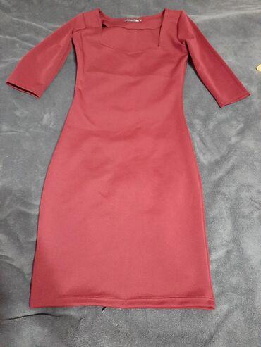 Haljina,bordo boje