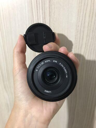 Объективы и фильтры - Кыргызстан: Объектив Panasonic LUMIX 20mm f1.7