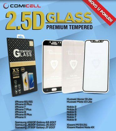 Tempered glass (kaljeno staklo) za zastitu ekrana glass 2. 5d. Zastitn - Beograd