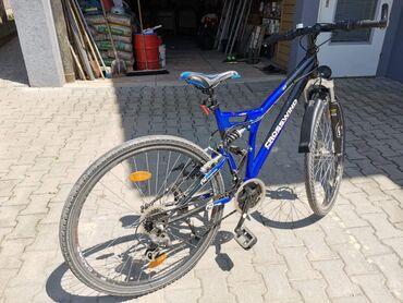 Biciklo - Srbija: Mountain bike CROSSWIND biciklo, u odlicnom stanju, sve radi. Velicina