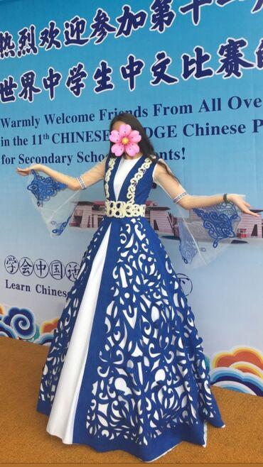 вечернее платье ручной работы в Кыргызстан: ШОК ЦЕНА!!! срочно продаю шикарное платье в национальном стиле!• В