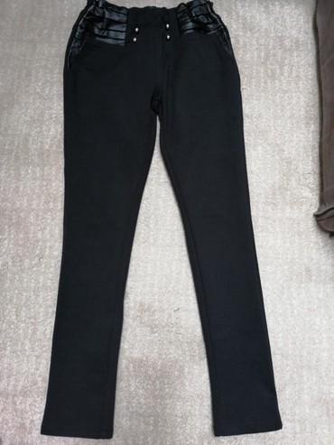 Pantalone-helanke-tamno-borda-bojaa - Srbija: Helanke kao pantalone. Cena 300din