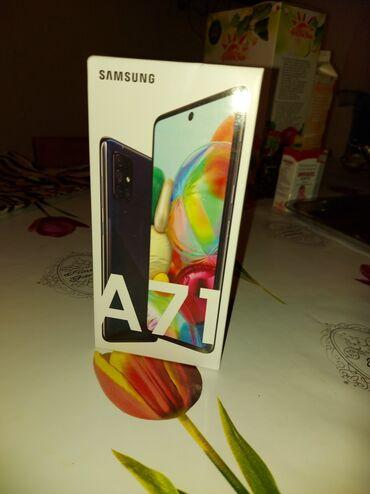 Электроника - Кочкор: Самсунг А71 последн выпск цвет церн 128память камера 64мгп куплено в