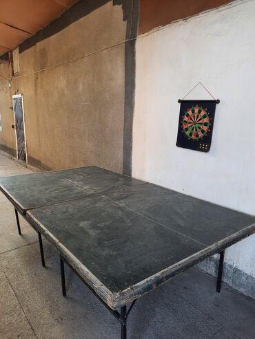 Спорт и хобби - Каракол: Продаю теннисный столик  Цена 5500