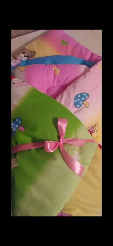 слезы на подушке 3 в Кыргызстан: Комплект для новорождённых (одела,матрац, подушка)