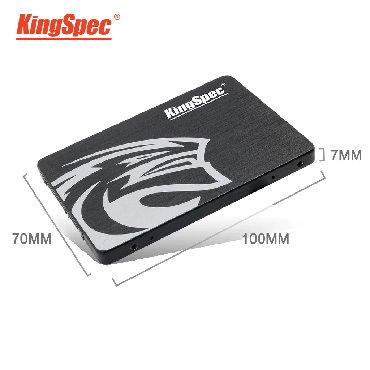 жесткие диски hdd для непрерывного доступа корпоративные в Кыргызстан: SSD KingSpec 360Gb Новый HDD Жесткий диск 3D-MLC5 дней на