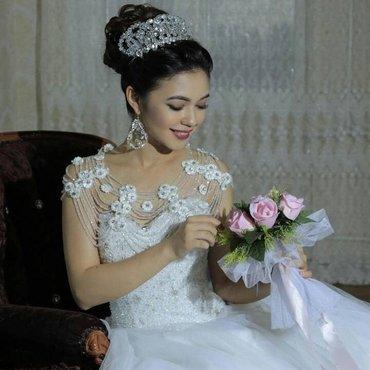 💥 Свадебное👰🏻 и вечернее платье💃🏻, свадебные туфельки👡, фата, бо в Бишкек - фото 3