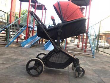 Детский мир - Ош: Срочно продаю коляску состояние 9/10 !!!!  Фирма Kinder Kraft покупали
