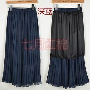 синяя юбка в Кыргызстан: Хит сезона-юбка плиссированная с подкладом темно-синего цветаРазмер S