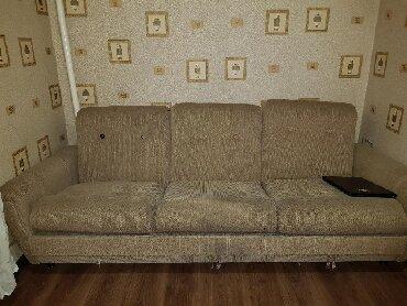 """раскладной кастет в Кыргызстан: Мягкая мебель """"Надежда"""" диван+2 кресла. Торг. Уступлю.Диван"""