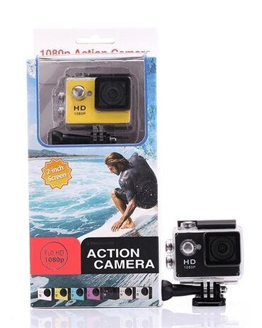 """foto kamera - Azərbaycan: Action kamera  LCD: 1.5"""" LCD ekran  Şəkil həlli: 12 Mega pikselləri (4"""