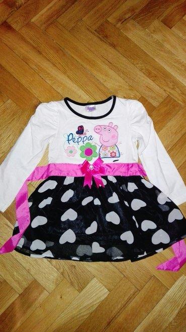 Peppa pig nova haljinica, samo skinuta etiketa, za 2 godine - Jagodina