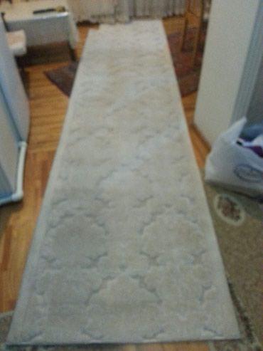 Bakı şəhərində Дорожка 4,10 × 1 метров белая очень красивая