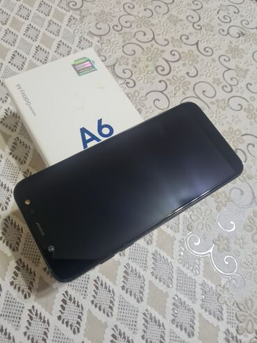 bmw 3 серия 325ti mt - Azərbaycan: Samsung Galaxy A6 | Qara | Barmaq izi, İki sim kartlı