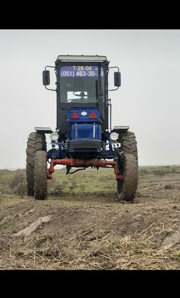 kabloklu traktor altlıqlı bosonojkalar - Azərbaycan: T 28 traktor ili 1987 təkərlər 4 de tezedir tam işlək vəzyətdə heç