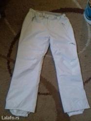 Ekstra bele ski pantalone........... Pojas 50 duzina nogavice 107 - Loznica