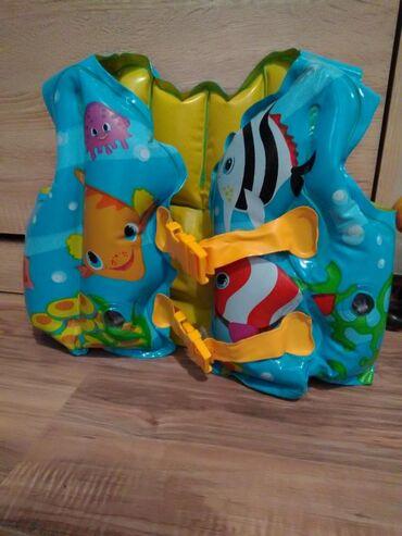 Za decu | Kragujevac: Inteks prsluk za plivanje 3-5 vel. Od 18 do 23 kg. Bez mane. Cena 500
