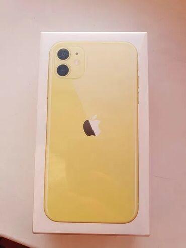 Новый IPhone 11 256 ГБ Желтый