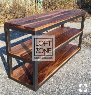 Лофт мебель полки стеллажи столы в Бишкек