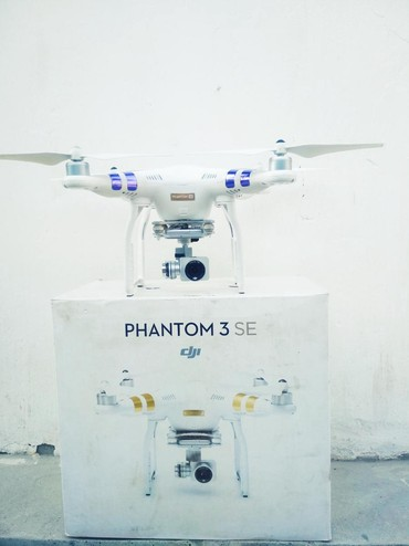 phantom 3 в Кыргызстан: Phantom 3 SE сатылат абалы жакшы 3 батерейка каробка +сумка