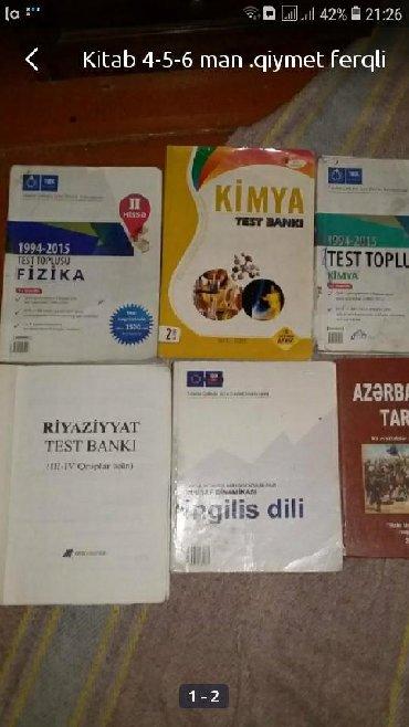 kankiler qiymeti - Azərbaycan: Kitab 4-5-6 man .qiymet ferqli