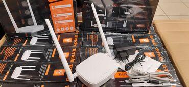 videokamera na kompyuter в Кыргызстан: Wi-Fi роутер Tenda N301 фунцией легкой настройки 2,4 GhZ   Tenda N301